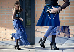 Anna Vershinina - Christian Dior Bag, Topshop Heels, Hand Made Skirt - Not the Last Time