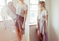 Amy S - In Love With Fashion Dress, Chic Wish Crop Top - I know a place