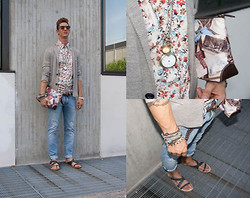Alessio PlusG - Zara Sandals, Paul Smith Bag - Waiting for the fall!!