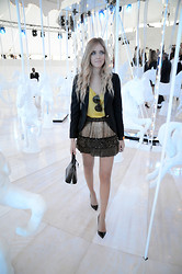 Chiara Ferragni - Christian Louboutin Shoes, Louis Vuitton Bag, Céline Celine Sunglasses - My look for Louis Vuitton fashionshow