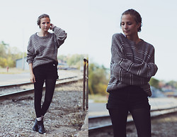 Bethany Struble - Vintage Sweater - Grandpa Sweater