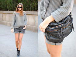 Zina CH - Zara Sweater - Grey Dreams