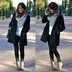 Marianna M - Zara Coat, Carlings Jeans, Bianco Boots - Sunny day & fresh air