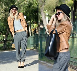 Fashionable J - Zara Hat, Zara Leather Jacket, Zara Bag - Is it over now?
