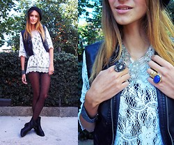 Lorena M - Diy Vest, Zara Boots - The lady is a tramp