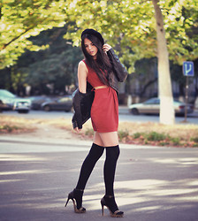 Doina Ciobanu - In Love With Fashion Dress Cut Offs - My AMOUR with SOCKS and DRESSES