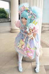 TINY Sue - Angelic Pretty Milky Planet, Happy House, Tarina Tarantino Pink Head, Milk, Re Ment, Milk, Hello Kitty Colorful Bunny, Tarina Tarantino Pink Head, Hello Kitty Colorful Bunny, Hello Kitty Colorful Bunny, Re Ment - Lolita fashion