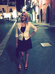 Noemie Von Mises - H&M Jacket, Dress Made By Me, Vintage Bag By My Mother, P.D. - Romantic Night
