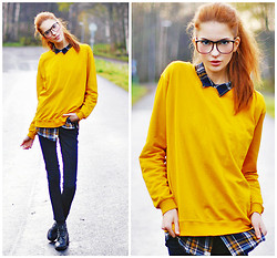 Ebba Zingmark - T Shirt Store Sweater, E&E Gasses Glasses - Goodbye Yellow Brick Road