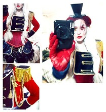 Natasha L. - Handmade Uniform, Leg Avenue Hat, From Friend Corset, Handmade Skirt - Le Cirque Réinventé.