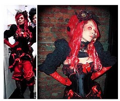 Natasha L. - Handmade Bolero, Handmade Skirt, Handmade Panties, Handmade Headband -  bloody. saint. spanish inquisition.