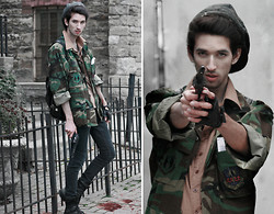 Bobby Raffin - Thrifted Zombie Killer Costume - Zombie Outbreak.