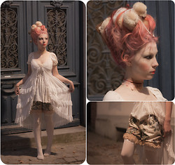 Laloutre . - Diy Bloomer, Diy Hair - Marie Antoinette found her head.
