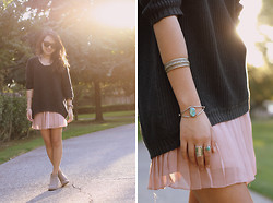 Stephanie N. - Forever 21 Sweater, Urban Outfitters Skirt - Transitions