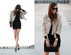 Andy T. - River Island Leather Jackey - SEASONS CHANGING