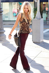 Shea Marie - Rebecca Minkoff Purse, Lf Stores Top, Citizens Of Humanity Pants - A beautiful day for a stroll