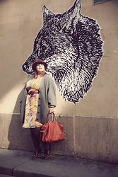 Stephanie - BigBeauty Zwicky - Mysuelly Bag, Asos Dress, Minelli Shoes, New Look Hat, Taillissime Belt - + In bocca al lupo +