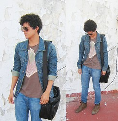 Axel Marquez - Vans, Lov Vintage Denim Jacket, Zara, Pull & Bear - I need your Love!!