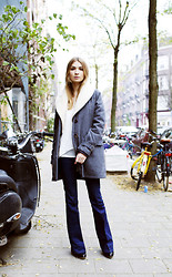 KYKLAMASHA. COM - Reiss Jeans - It's cold in Holland