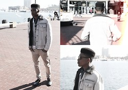 "Jarez Slater - Levi's® Ean Jacket - ""Paralyzed Coast"""