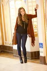 Naz Isik - Forever 21 Sweater, Tinley Road Boots - Feel So Close