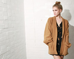 Oh My Love London - Love Boyfriend Jacket - If you love, love the moon; if you steal, steal a camel.