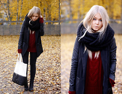 Emmi T - H&M Jacket, H&M Bag - When the leaves fall