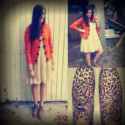 Maddy C. - Forever 21 Leopard Booties - New Shoes!