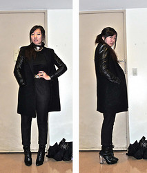 Kathy Yang - Versace Necklace, H&M Coat, Moschino Belt, Asos Boots - Nightmares & Dreamscapes