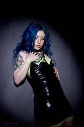 Phexxie Bizarre - Jane Doe Latex Dress - Rubber Love