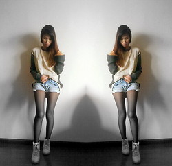 Joanne Pimentel - My Boyfriend's Closet Pullover, Shoes - Pull me Over