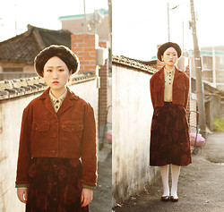 Autumn Kim - United Colors Of Benetton Corduroy Jacket - Mongolian