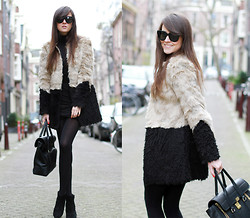 Andy T. - Asos Faux Fur, 3.1 Phillip Lim Pashli Bag - NOT WHAT IT SEEMS