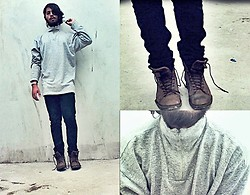 Victor Jesus - Sweaters, Bershka Jeans, Zara Botas - A day of cold