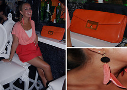 Noemie Von Mises - Mango Top, Zara Skirt, Marc By Jacobs Bag, H&M Earrings - Shades