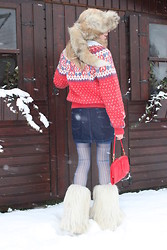Chicissime . - Dale Of Norway Snowflakes Cardigan - Dale of NORWAY