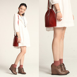 Yuki Lo - Vintage Bag - Pure white