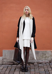 Hanna S - H&M Dress, Zara Scarf, Zara Bag, Weekday Shoes - SHARON