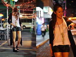 Laureen Uy - Zara Shorts - It Don't Matter If It's Black and White (BMS)