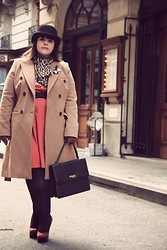 Stephanie - BigBeauty Zwicky - Laura Clement Coat, Mysuelly Handbag, Dorothy Perkins Shoes, Asos Dress, Asos Hat - + My Tailor is ... +