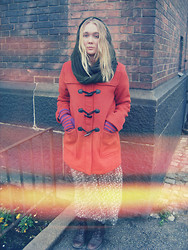 Alba Larsdotter - Monki Jacket, Indiska Dress - They say it´s winter time tomorrow and I´m told to listen.