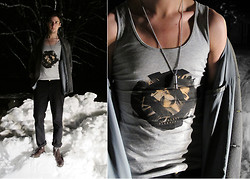 Jonas Stenberg - Ardentee Shirt, Forever 21 Whistle - This kind of cold I can handle