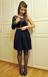Bahia G - Zara Dress, Primark Tights - Merry Christmas.