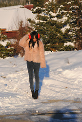 Raquel . - Jeffrey Campbell Boots - IT'S STILL SNOWING!