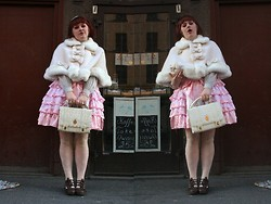Pandasoppa . - Baby The Stars Shine Bright Cape, Angelic Pretty Bag, Bodyline Shoes - Pandasoppa got stuck in my chimney