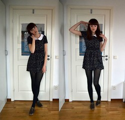 Alice T - H&M Dress, New Look Shoes, Old Collar - I WON'T SHARE YOU