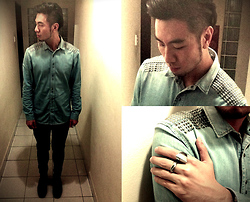 Adrian Jiun - H&M Denim Shirt - 2011 to 2012 : Shoulder Blade!