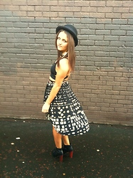 Megan Meenan - Topshop Bralet Top, Topshop, River Island Hat, Litas - Dream catcher