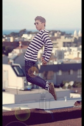 Fahmi Ramadhan - Zara Long Sleeves Shirt, Pull & Bear Boots, Lois Skinny Jeans - How to fly?