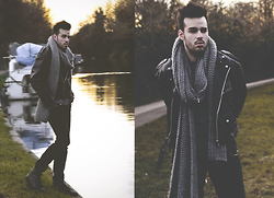 Chad Monroe - Zara Scarf Xxl, Zara Shoes With Spike - Perfecto Me .